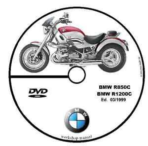 MANUALE OFFICINA BMW R850 C R1200 C il mio 03/1999 Manuale