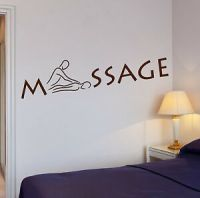 Wall Stickers Massage Room Spa Relax Beauty Salon Art