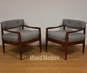 adrian pearsall lounge chair wooden adirondack chairs lowes walnut grey mid century modern a image is loading amp