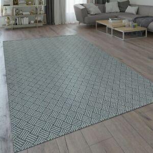 details sur tapis moderne tissage a plat motif tisse motif tresse design geometrique gris