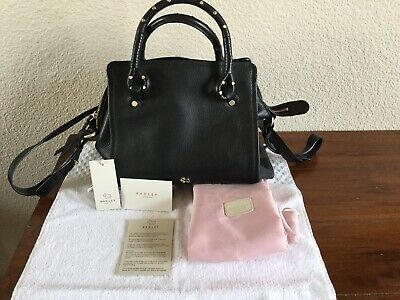 "100% Authentic Radley London Luxury Leather Black Handbags ""new"" | eBay"