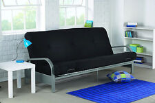 atherton home soho convertible futon sofa bed and lounger standard sizes black ebay with mattress modern sleeper dorm couch