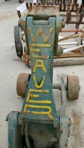 Vintage Floor Jack : vintage, floor, Antique, Approximately, Weaver, Floor, Original, Paint!, WA-23