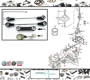 1J0711803C GEAR LINKAGE SELECTOR REPAIR KIT FOR VW GOLF