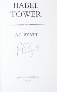 discounts for shop Babel Tower A.S. Byatt Uncorrected
