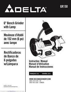 Delta GR150 Shopmaster 6