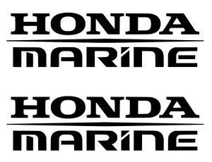 Honda Marine Stickers 2X Decal Boat outboard fishing Many