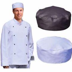Kitchen Hats Led Ceiling Light Fixtures New Unisex Men Ladies Women Chefs Hat Cap Chef Cook Work Image Is Loading