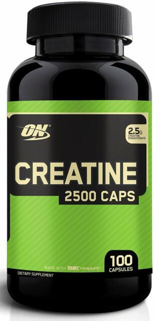 Optimum Nutrition Micronized Creatine Monohydrate Capsules ...