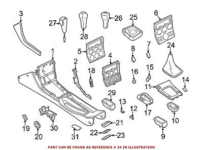 For BMW Genuine Manual Transmission Shift Linkage Boot