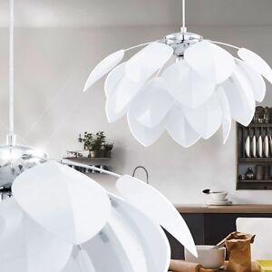 Blume Hnge Leuchte Esszimmer Beleuchtung Kinderzimmer Lampe Blte Romantik wei  eBay