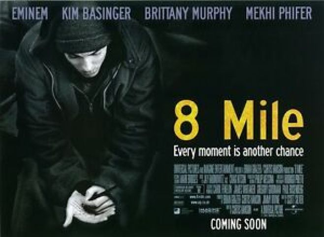 Image result for 8 mile poster