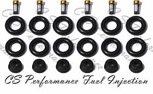 Jag V6 03-08 Fuel Injector Service Repair Kit Orings
