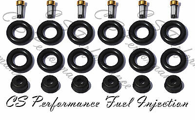 Jag V6 03-08 Fuel Injector Service Repair Kit Orings