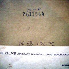 Avionics Wiring Diagrams 2008 Chevy Cobalt Starter Diagram Douglas Dc 6b And 7c Manual Ebay Image Is Loading