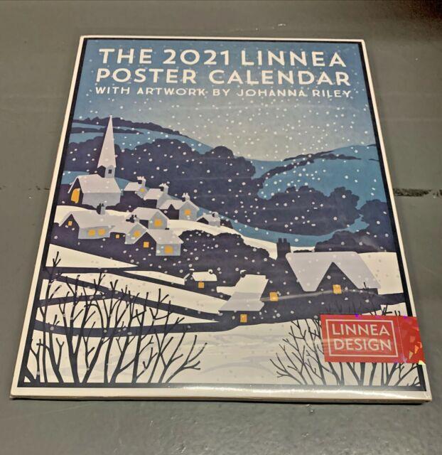 linnea design 2021 poster wall calendar