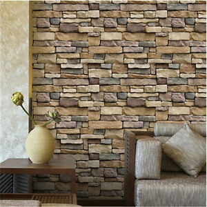 brick effect kitchen wall tiles remodel orange county tile stickers home decor bathroom diy image is loading
