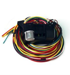 details about 12v 10 circuit basic wire harness fuse box street hot rat rod wiring car truck [ 900 x 900 Pixel ]