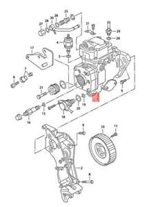 Genuine VW SEAT AUDI SKODA Beetle Bettle Bora Injection