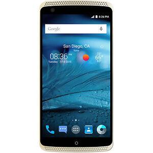 "ZTE Axon Pro Ion Gold 5.5"" 64GB Factory Unlocked SmartPhone 4K Video"