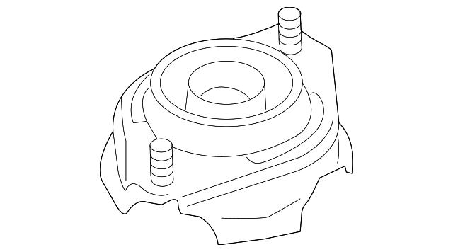 OEM NEW 2008-2014 Subaru Forester Impreza Rear Suspension