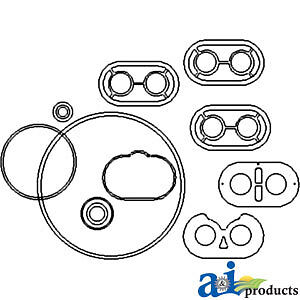 A-PHPSKIT Massey Ferguson Parts PUMP REPAIR KIT 6500 , 30