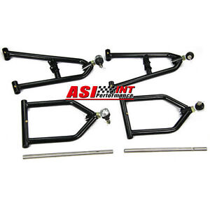 Adjustable Upper &Lower A-Arms +2 +1 For 1987-2006 Yamaha