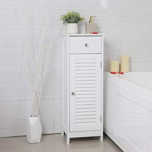 details sur meuble salle de bain wlens 32 cm avec tiroir blanc rustique