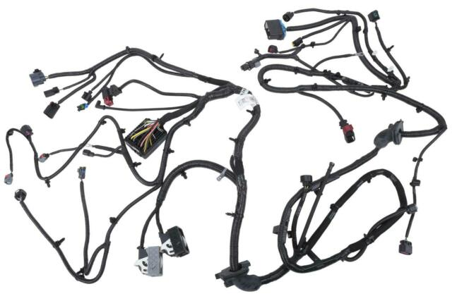 Cadillac GM OEM 2013 XTS Headlamp-Front Lamps-Wire Harness