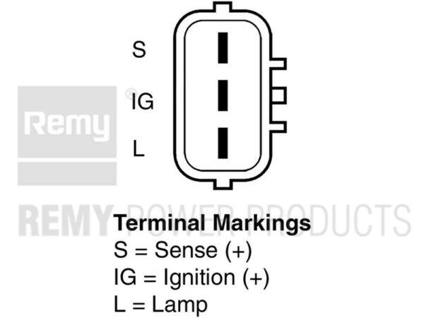 Alternator-Premium Remy 12116 Reman fits 1998 Lexus GS300