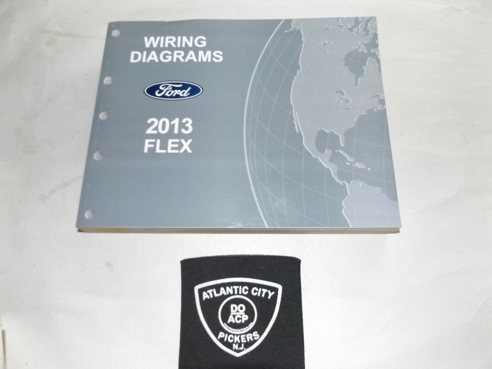 medium resolution of 2013 ford flex electrical wiring diagrams factory oem service manual