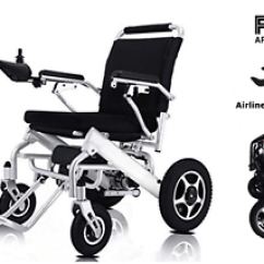 Wheelchair Ebay Doll Table And Chairs Lightweight Electric Power Mobility Aid Motorized Image Is Loading