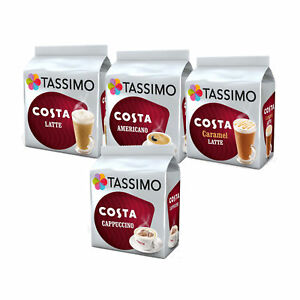 tassimo costa coffee lovers