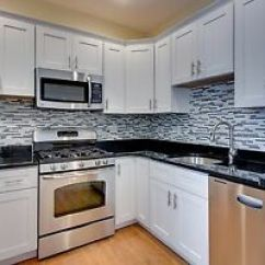 10x10 Kitchen Cabinets Remodeling Silver Spring Md 10 X White Shaker Ebay Image Is Loading 039
