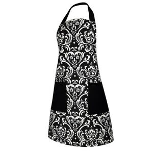 cute kitchen aprons oversized island restaurant men bib cooking gift cotton apron image is loading