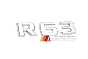 Trunk Rear Letter Emblem Badge Letters R63 R 63 for