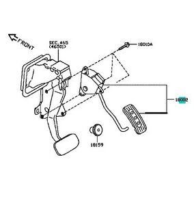 NISSAN OEM 07-11 Versa-Accelerator Pedal Travel Position