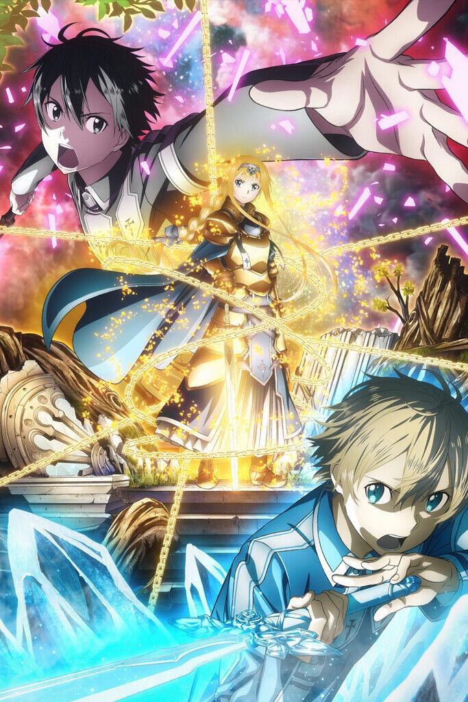 Sword Art Online Alicization 16 : sword, online, alicization, Sword, Online, Alicization, Alice, Large, Poster, Decor