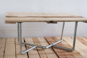 details about rustic industrial furniture vintage shelf iron pipe diy coffee table legs dt021