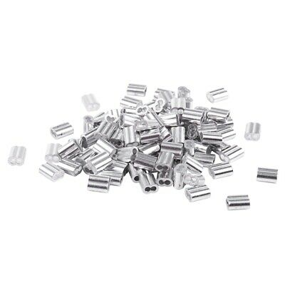 1/16-inch Wire Rope Aluminum Sleeves Clip Fittings Cable
