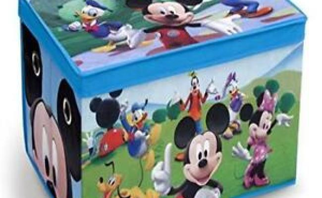 Delta Children Fabric Toy Box Disney Mickey Mouse Easy