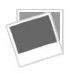Portable Kitchen Cart Large White Island Trolley Hevea Wood Storage 2 Drawers Shelf Image Is Loading
