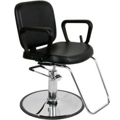 White Multi Purpose Salon Chair Oversized Chairs With Ottomans Caden Premium Reclining Styling Ebay Beauty Mp R5