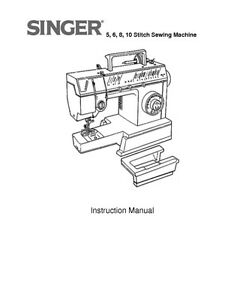 Singer 4525-4526-4528-4530 Sewing Machine/Embroidery