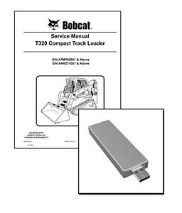 Bobcat T320 Compact Track Loader Workshop Service Manual
