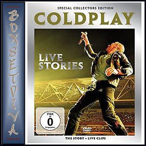 COLDPLAY - LIVE STORIES & MUSIC DOCUMENTARY ***BRAND NEW DVD*** | eBay