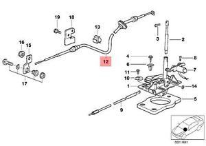 Genuine BMW E36 Cabrio Automatic Transmission Selector