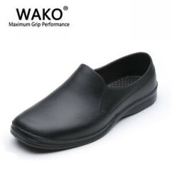 Kitchen Shoes Sink Hose Repair Mens Restaurant Oil Resistant Cook Work Chef Slip On Image Is Loading