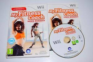 My Fitness Coach Dance Workout Game for Nintendo Wii  Wii U  VGC  FAST POST  eBay