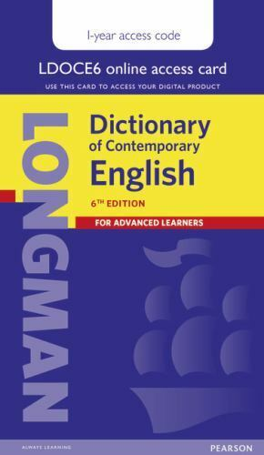 Longman Dictionary Of Contemporary English : longman, dictionary, contemporary, english, Longman, Dictionary, Contemporary, English, LONGMAN, (2014,, Digital,, Other,, Student, Edition), Online